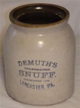 Vintage Stoneware Jar