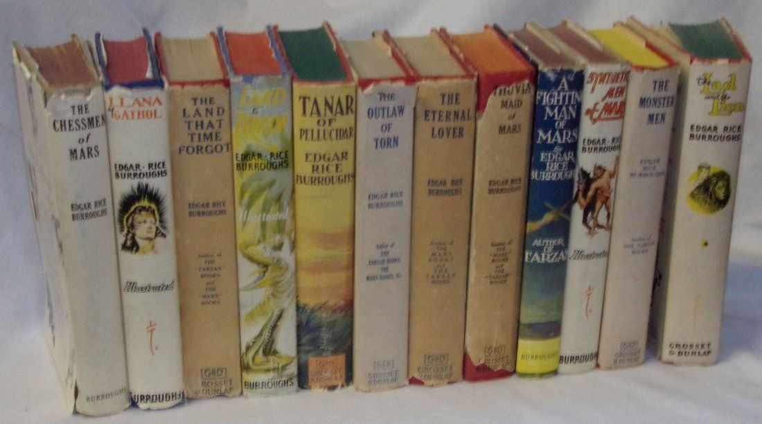 Collection Books/Edgard Rice Burroughs