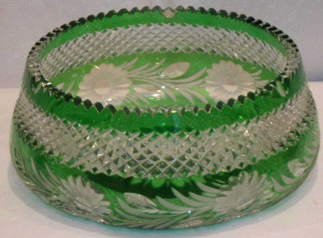 Cut Glass Center Bowl