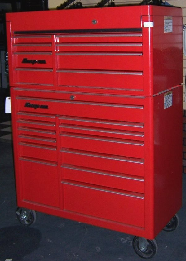 4001: Snap-On Stacking Tool Chest