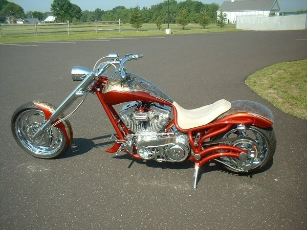 4016: 2005 Bourget's Bike Works Fat Daddy 330 Chopper