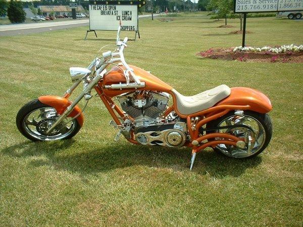 4020: 2004 Bourget's Bike Works Fat Daddy Tangelo