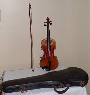 Vintage Violin w/Box