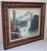 Landscape Oil on Canvas