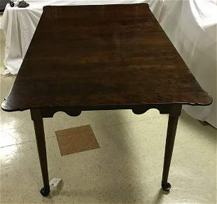 Stylized Queen Anne Dining Room Table