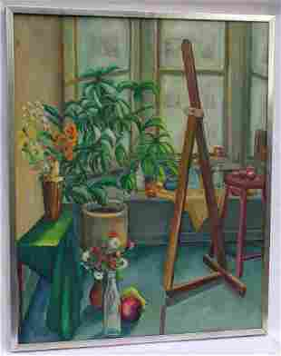 Oil on Canvas Still Life Painting