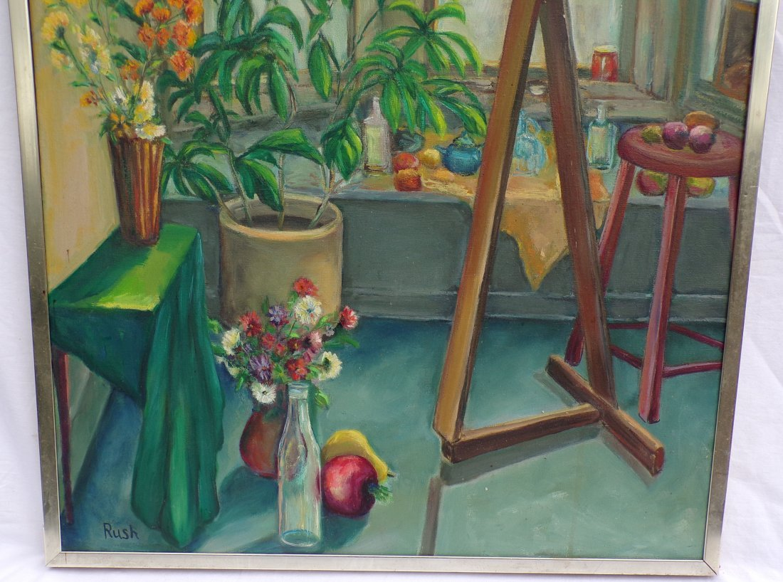 Oil on Canvas Still Life Painting - 3