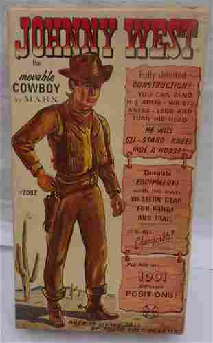 Johnny West Movable Cowboy