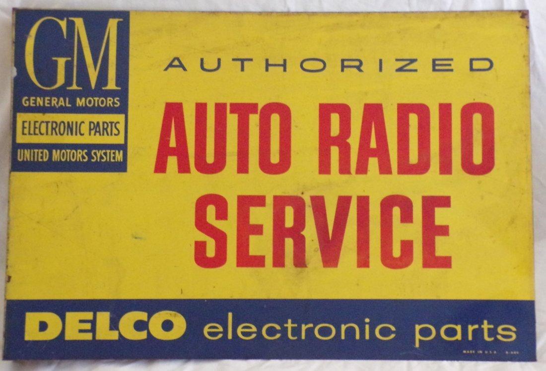 Vintage Metal Advertising Sign
