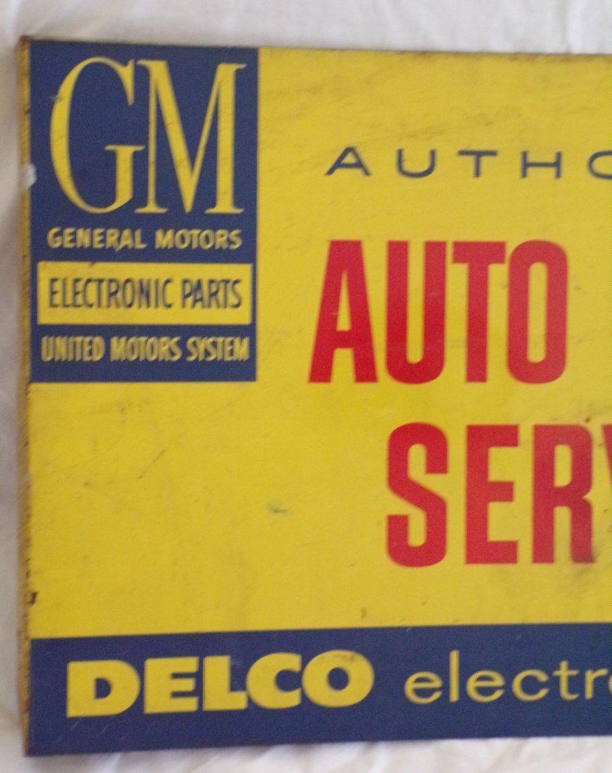 Vintage Metal Advertising Sign - 2
