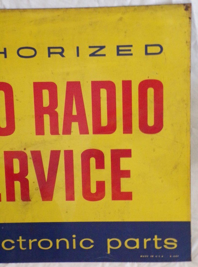 Vintage Metal Advertising Sign - 4
