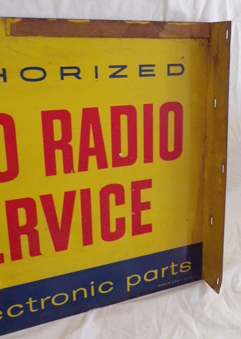 Vintage Metal Advertising Sign - 5