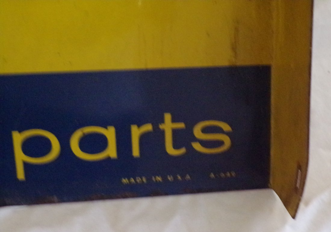 Vintage Metal Advertising Sign - 6