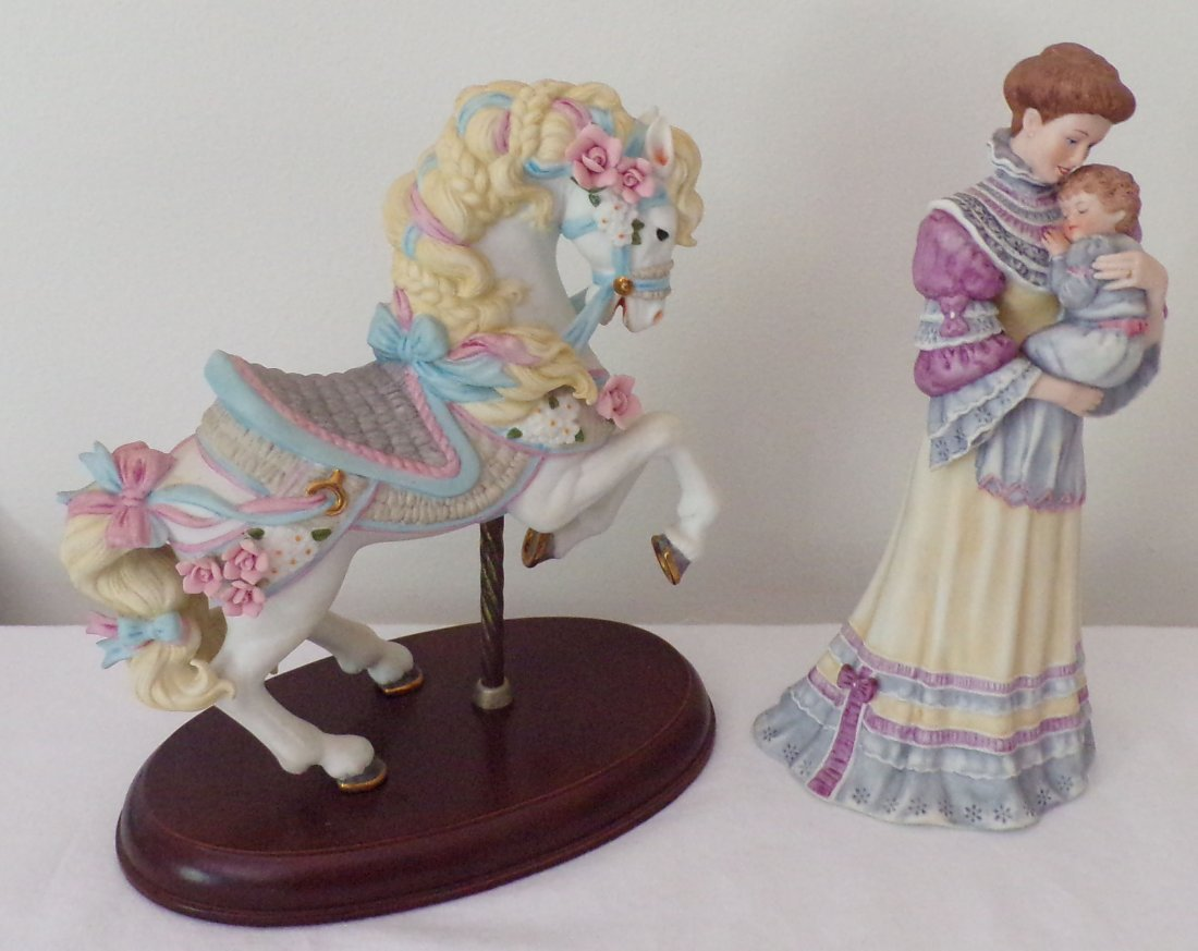 Grouping of 2 Lenox Figurines