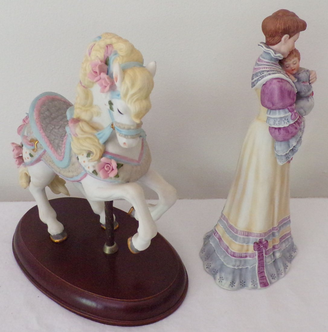 Grouping of 2 Lenox Figurines - 2