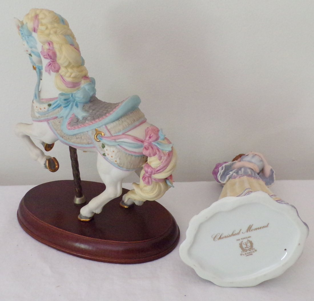 Grouping of 2 Lenox Figurines - 3
