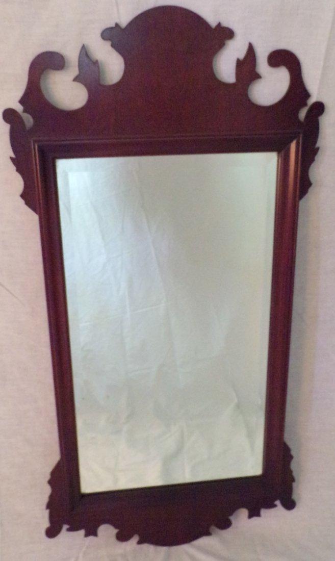 Stylized Fretwork Mirror