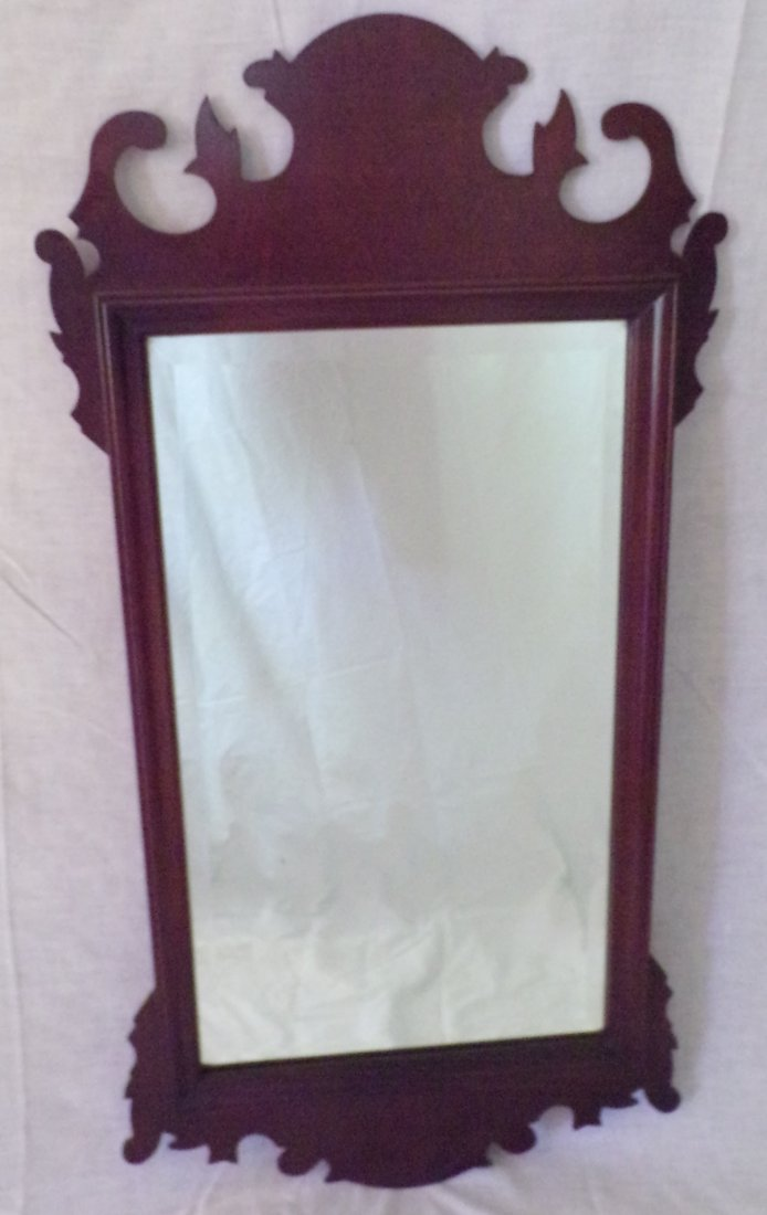 Stylized Fretwork Mirror - 2