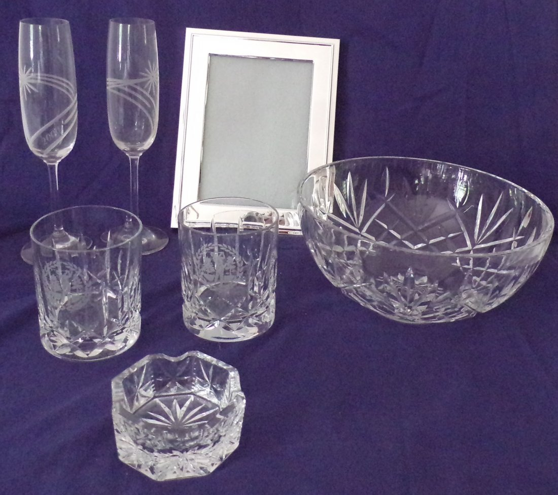 Grouping of Waterford Crystal Pieces