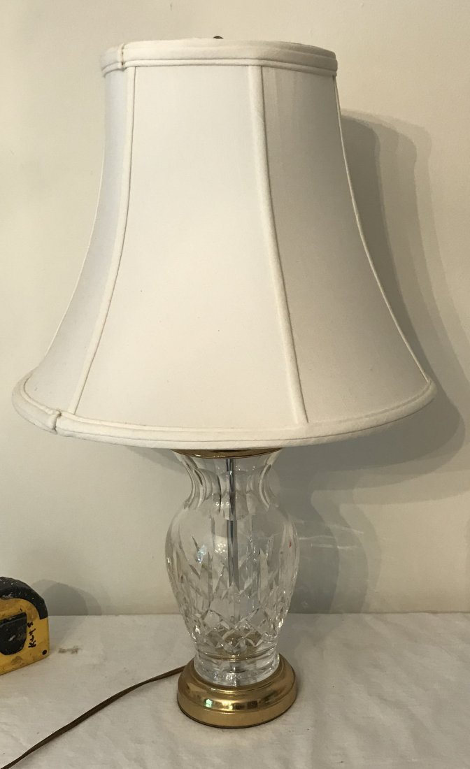 Crystal Table Lamp - Waterford