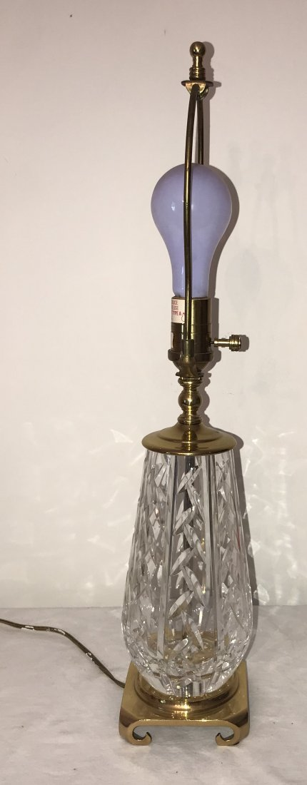 Crystal Table Lamp - Waterford - 2