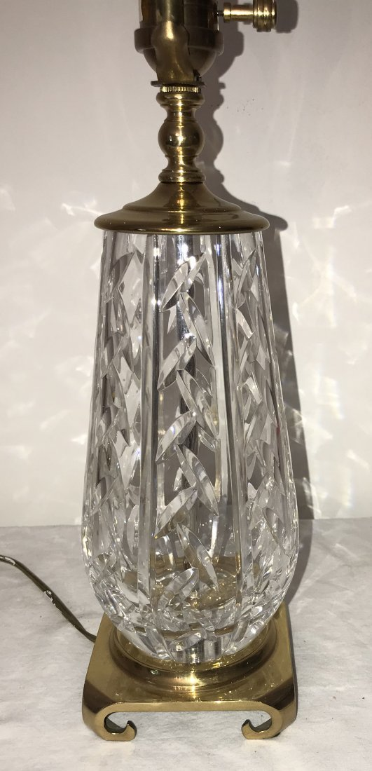 Crystal Table Lamp - Waterford - 3