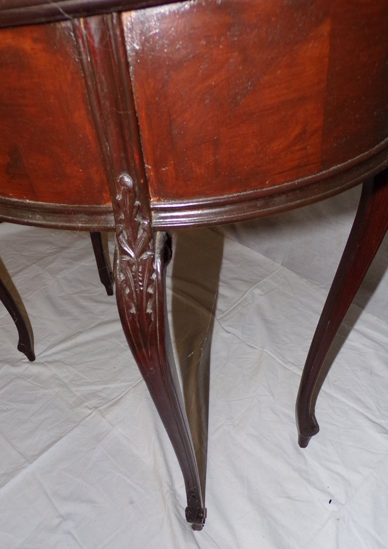 20th C Kidney Shaped Table - 4