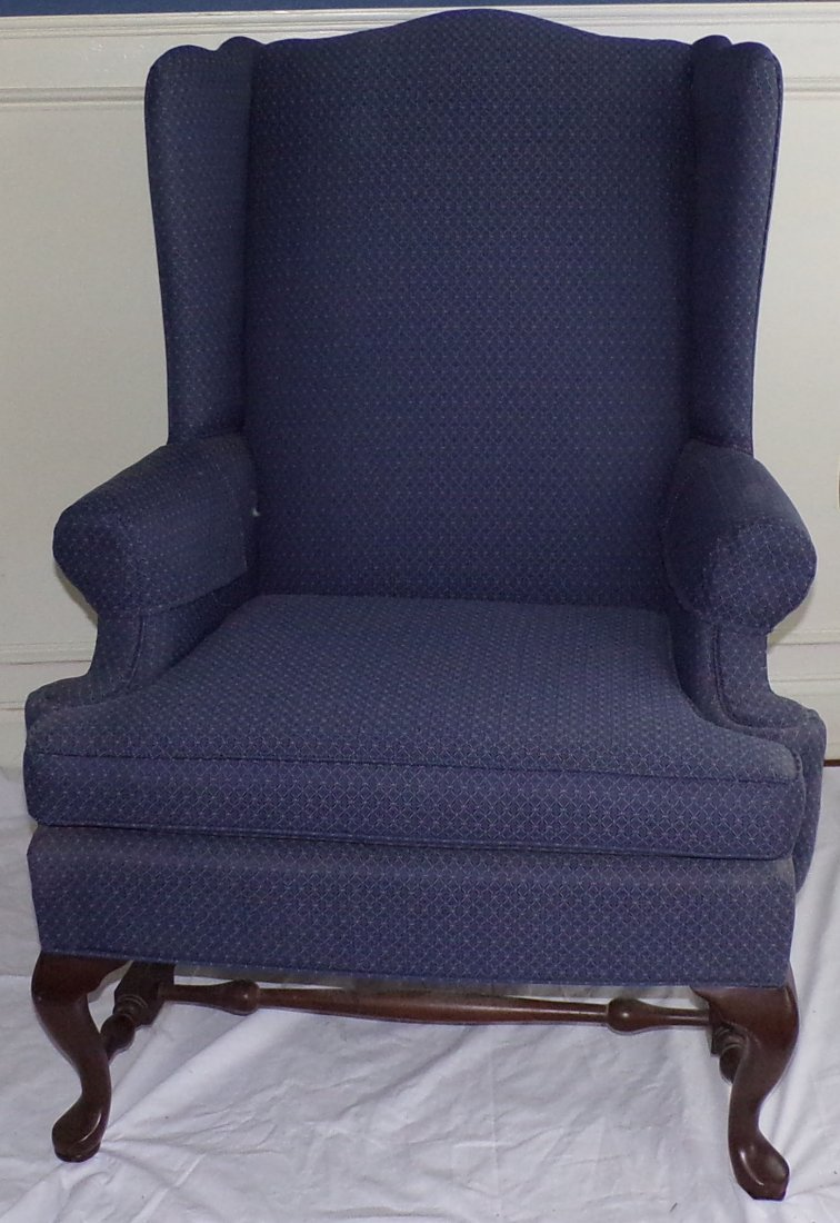 Stylized Wing Chair