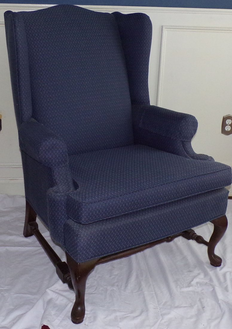 Stylized Wing Chair - 2