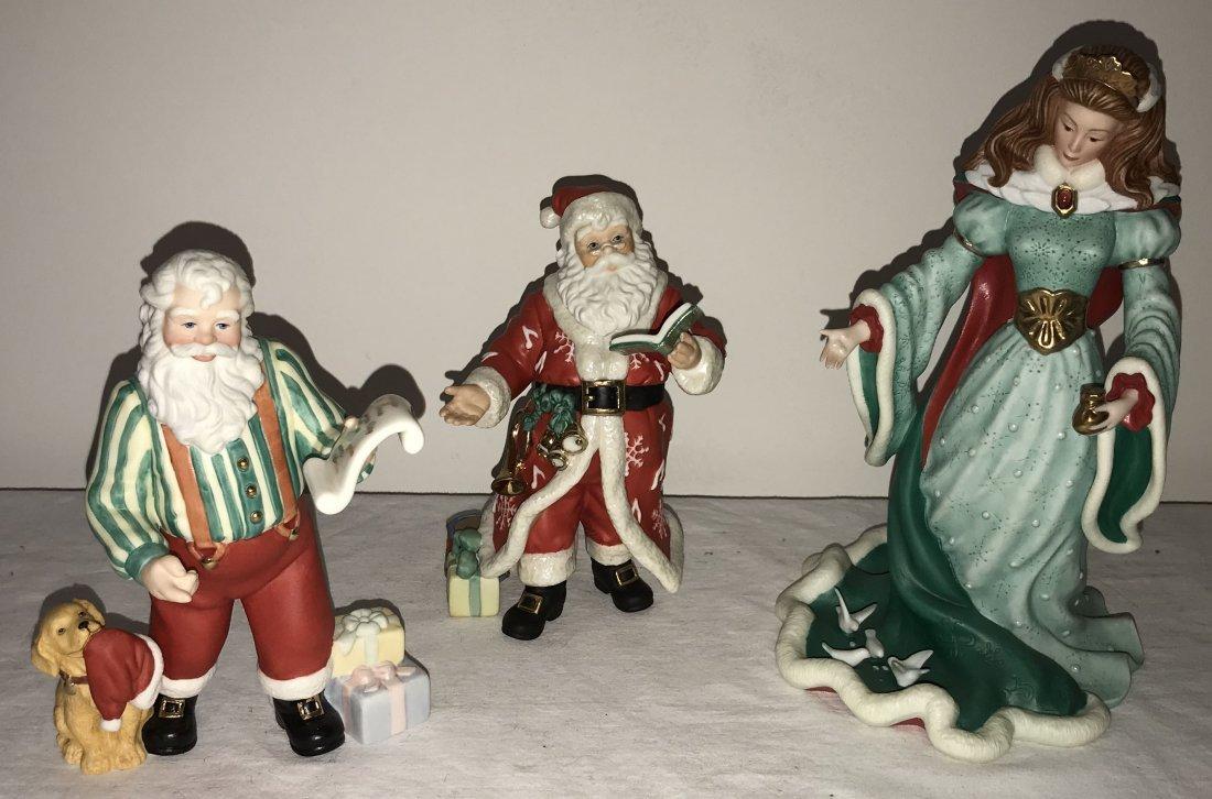 Grouping of 3 Lenox Figurines