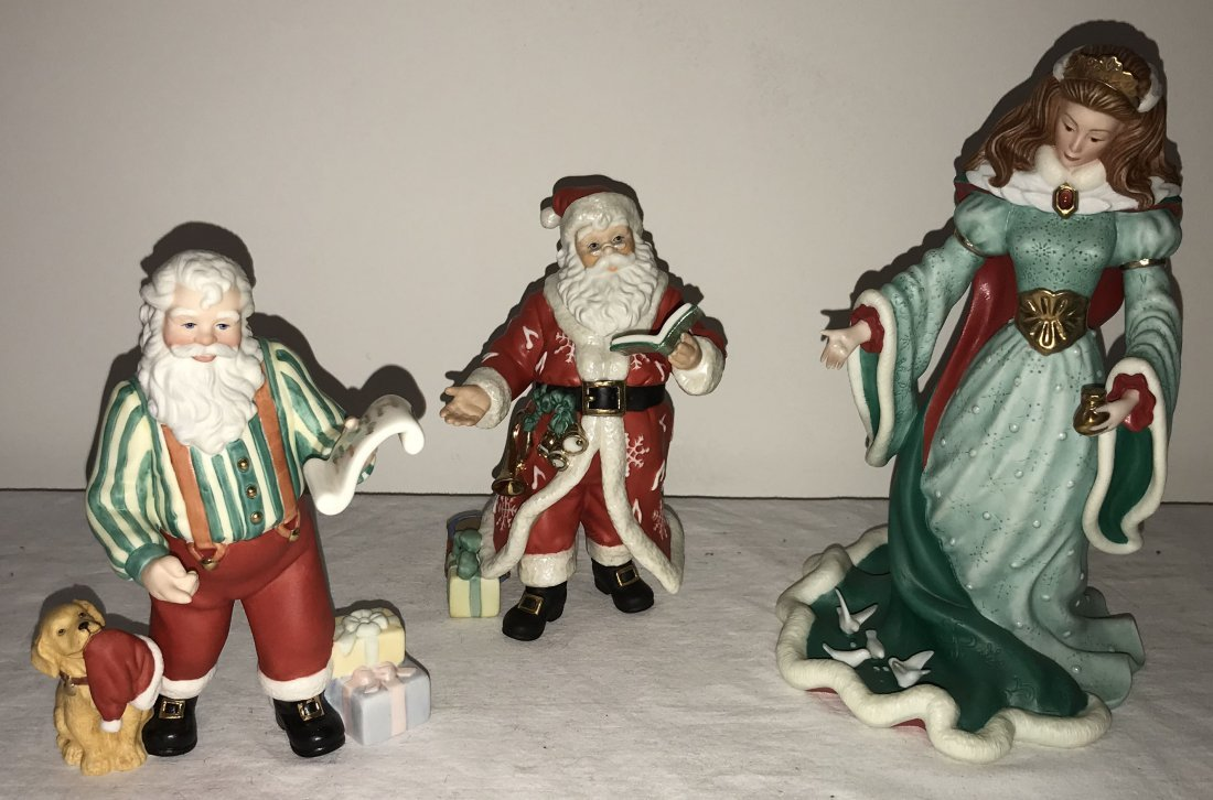 Grouping of 3 Lenox Figurines