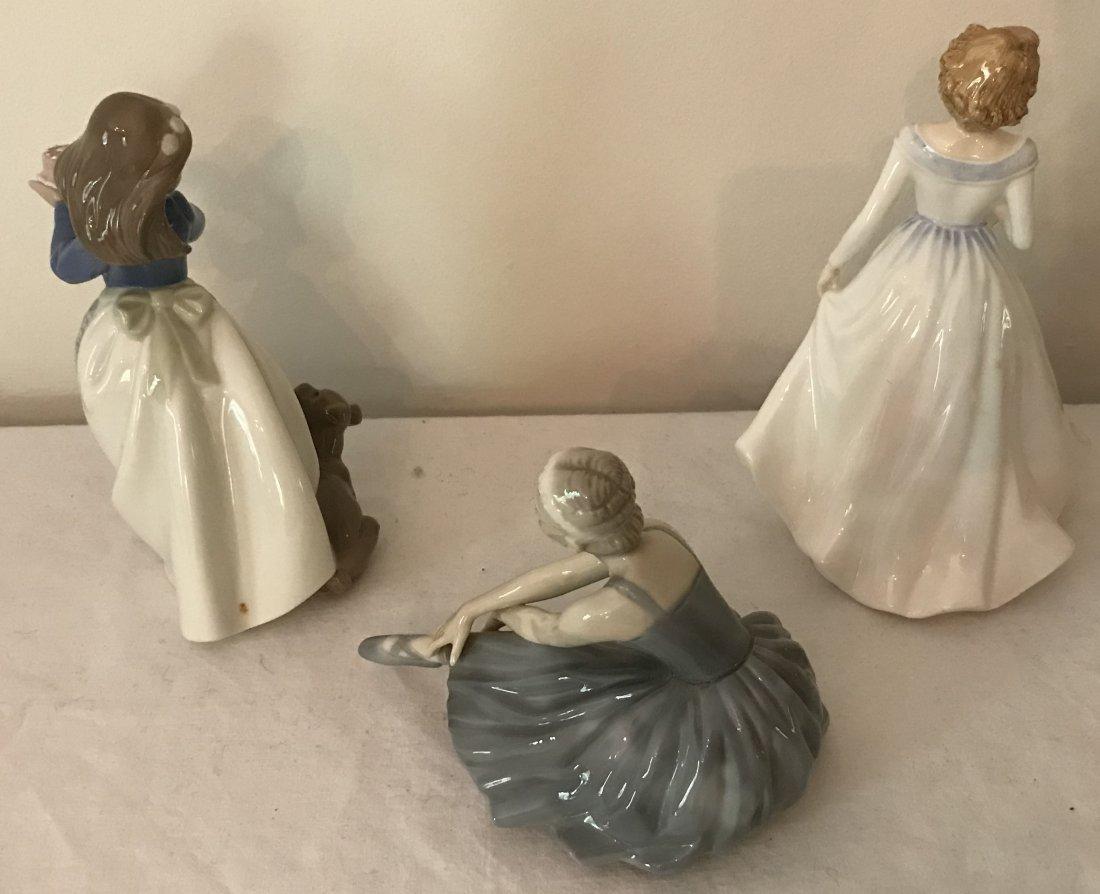 3 Porcelain Figurines - 2