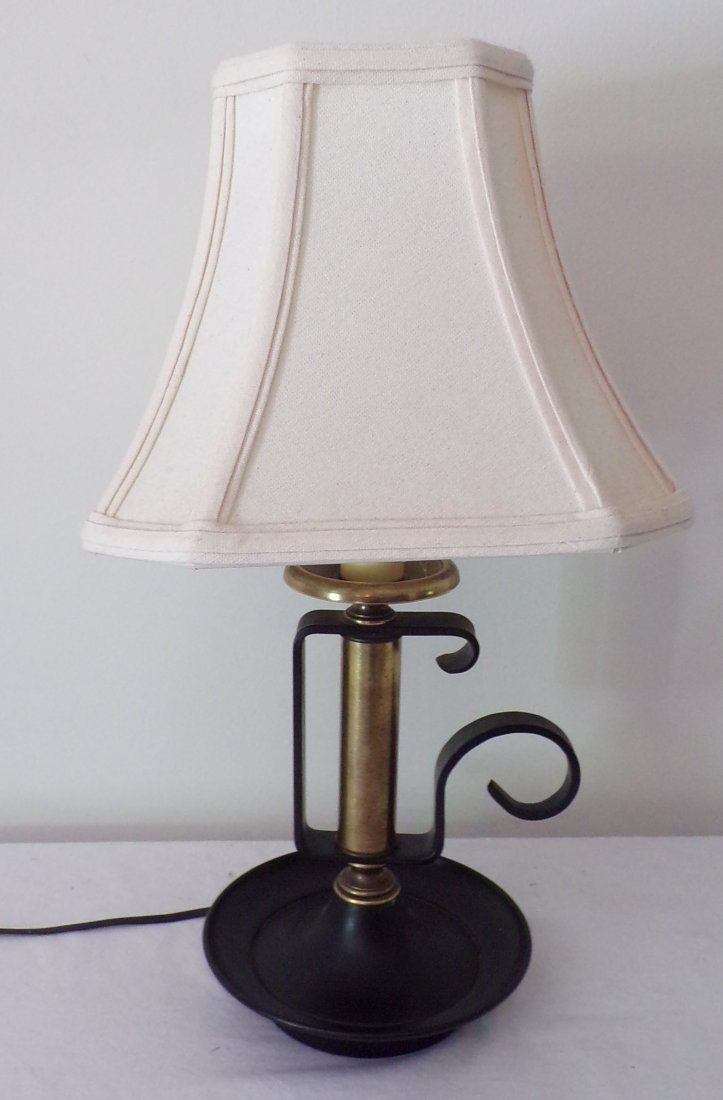 Reproduction Chamber Stick Table Lamp