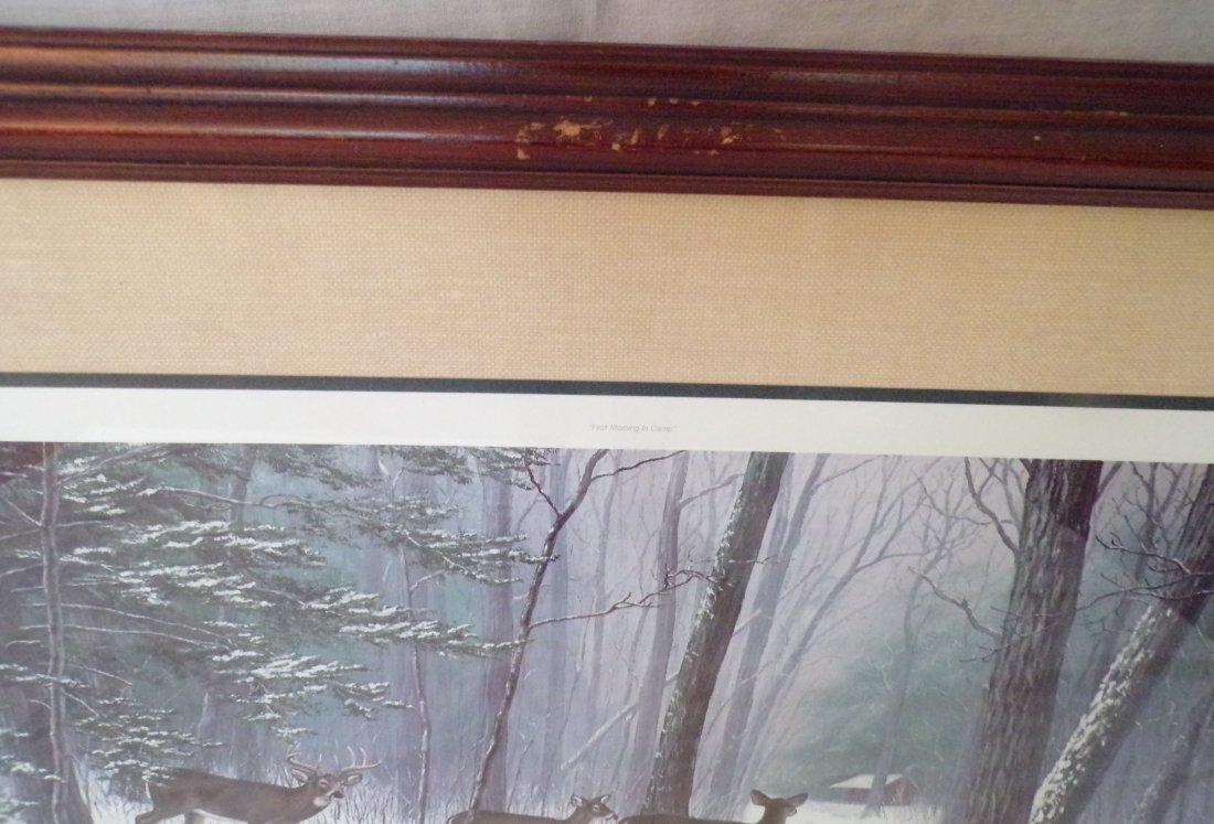 Framed Wildlife Landscape Print - 2