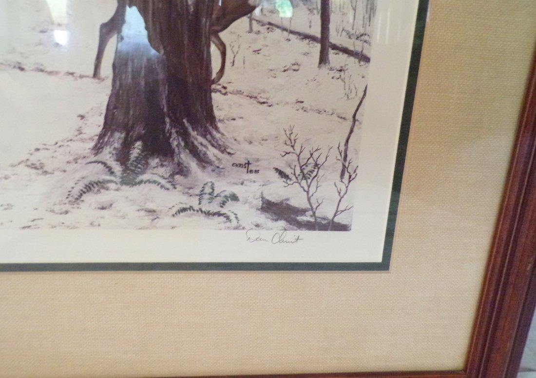 Framed Wildlife Landscape Print - 4