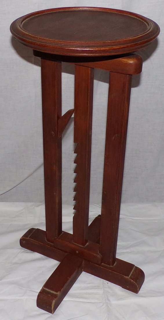 Reproduction Country Wagon Jack Candlestand