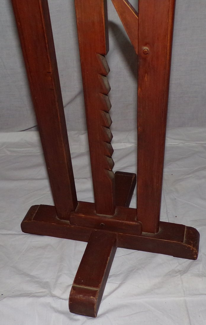 Reproduction Country Wagon Jack Candlestand - 6