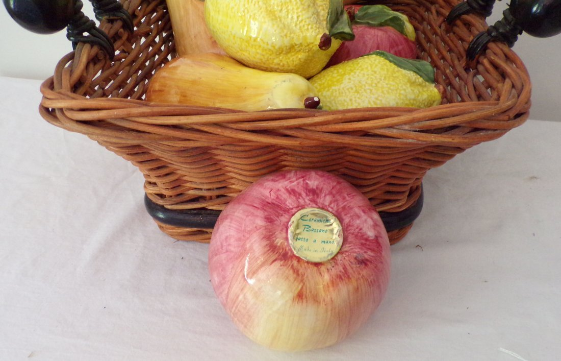 Grouping of Ceramic Fruit - 2