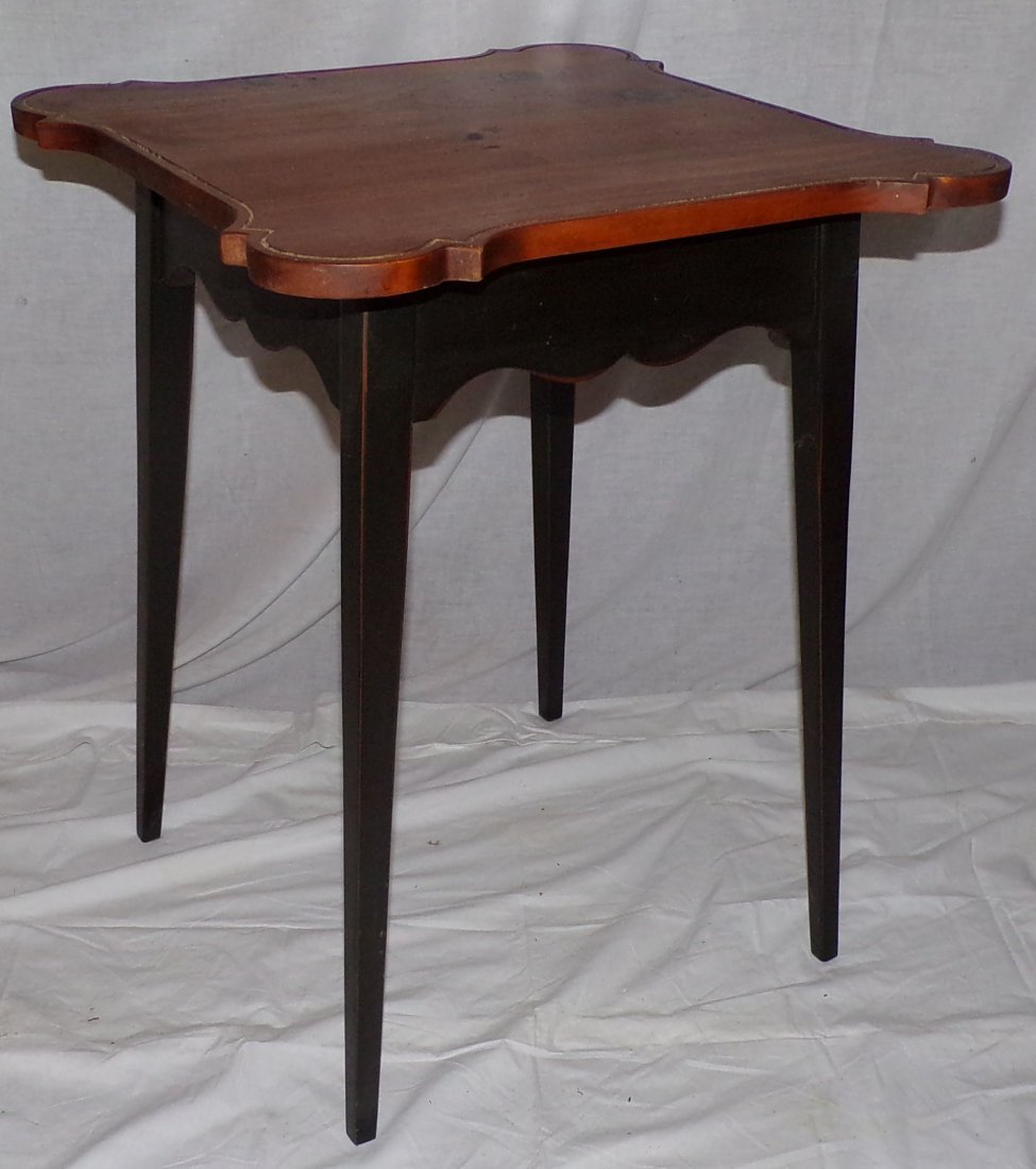 Stylized Country Pine Work Table