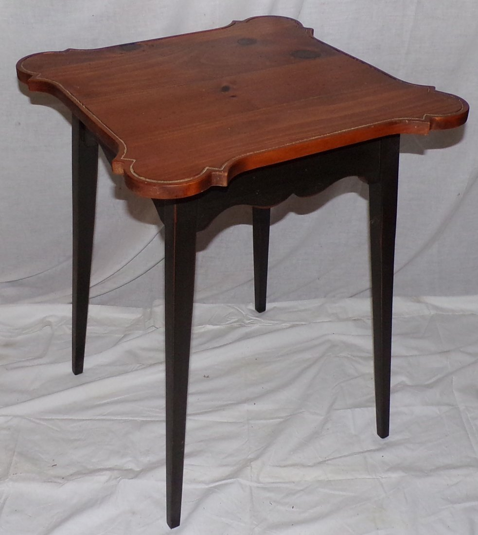 Stylized Country Pine Work Table - 2