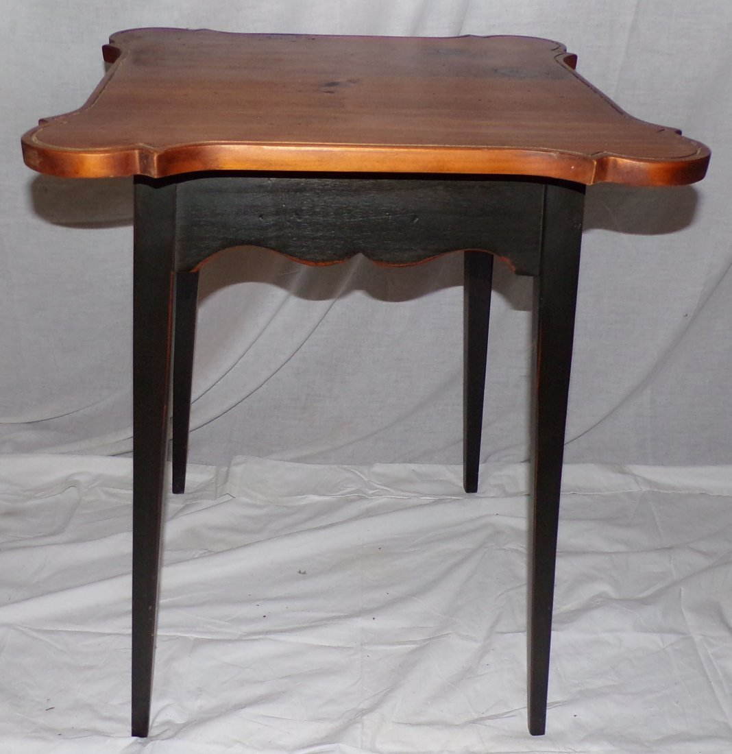 Stylized Country Pine Work Table - 3