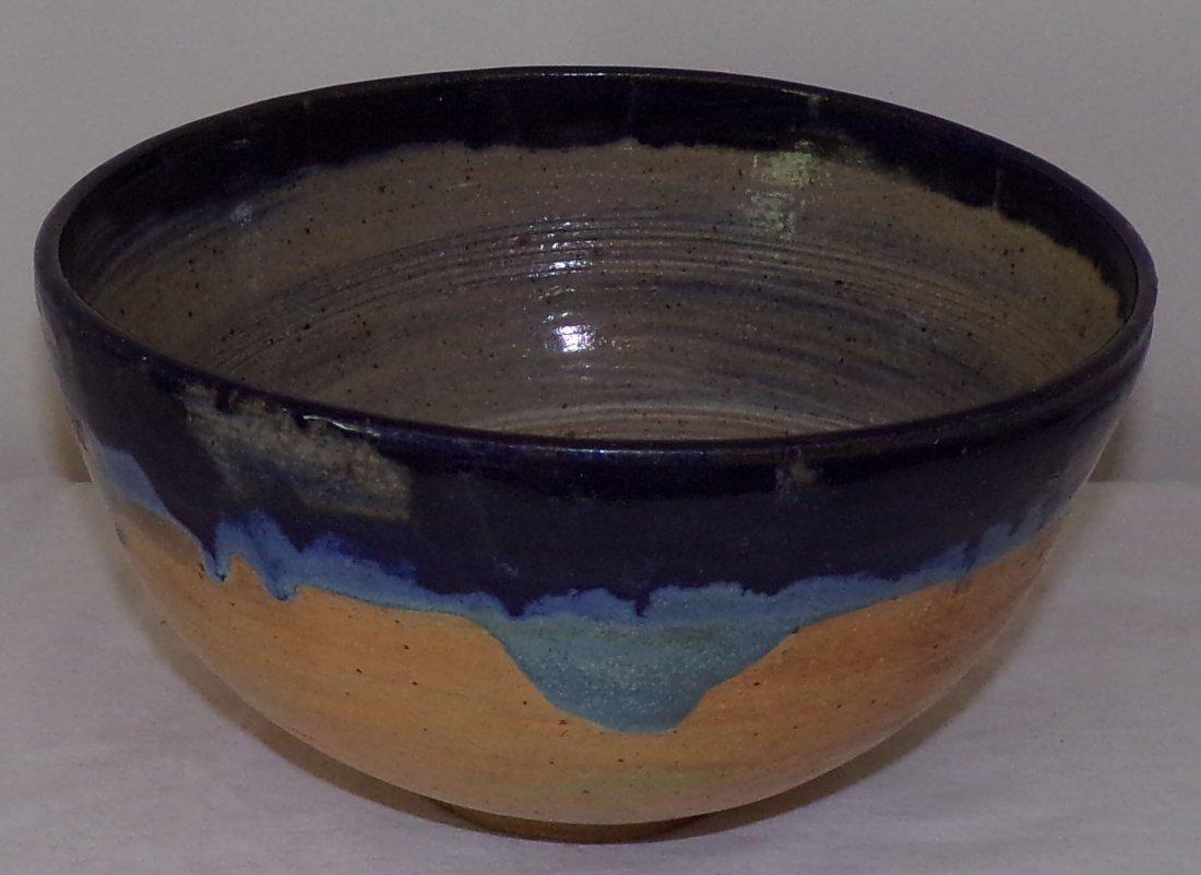 Modern Stoneware Round Bowl