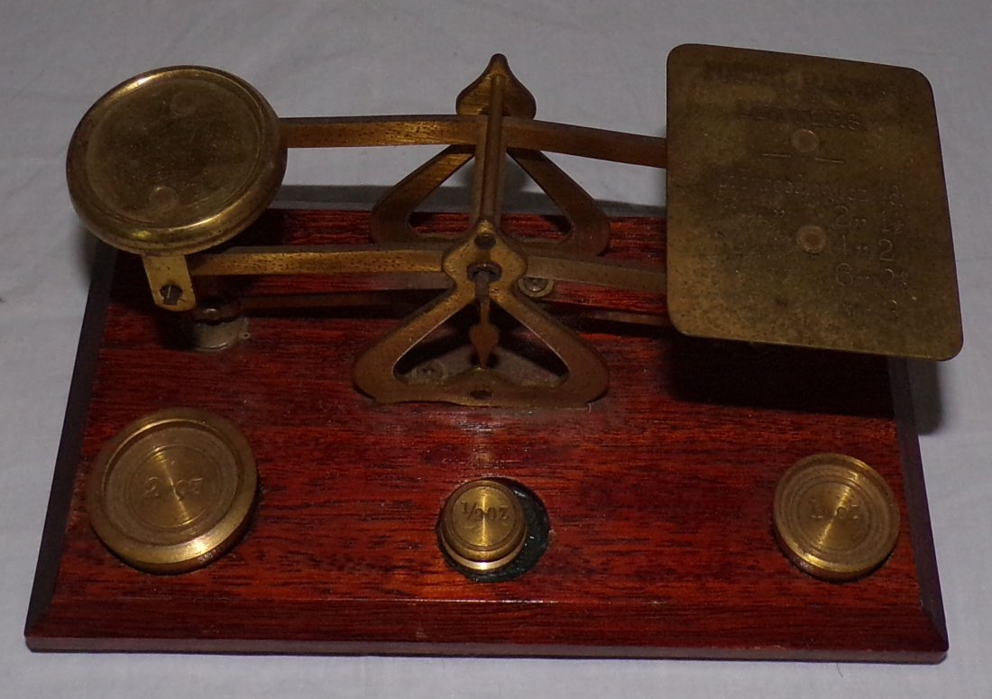 Reproduction Small Postal Scale