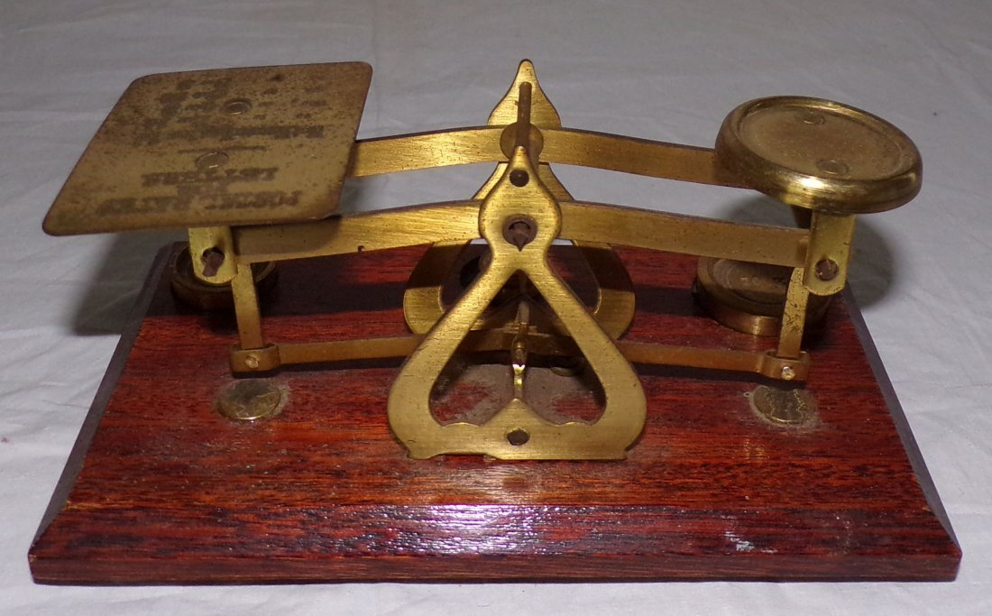 Reproduction Small Postal Scale - 5