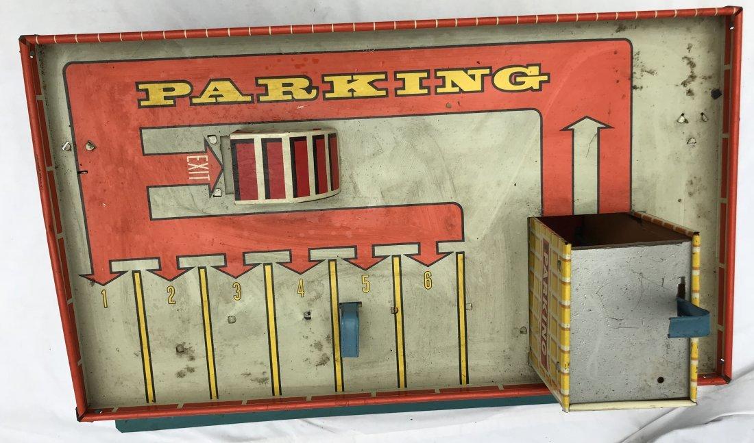 Vintage Tin Litho Service Station - 8