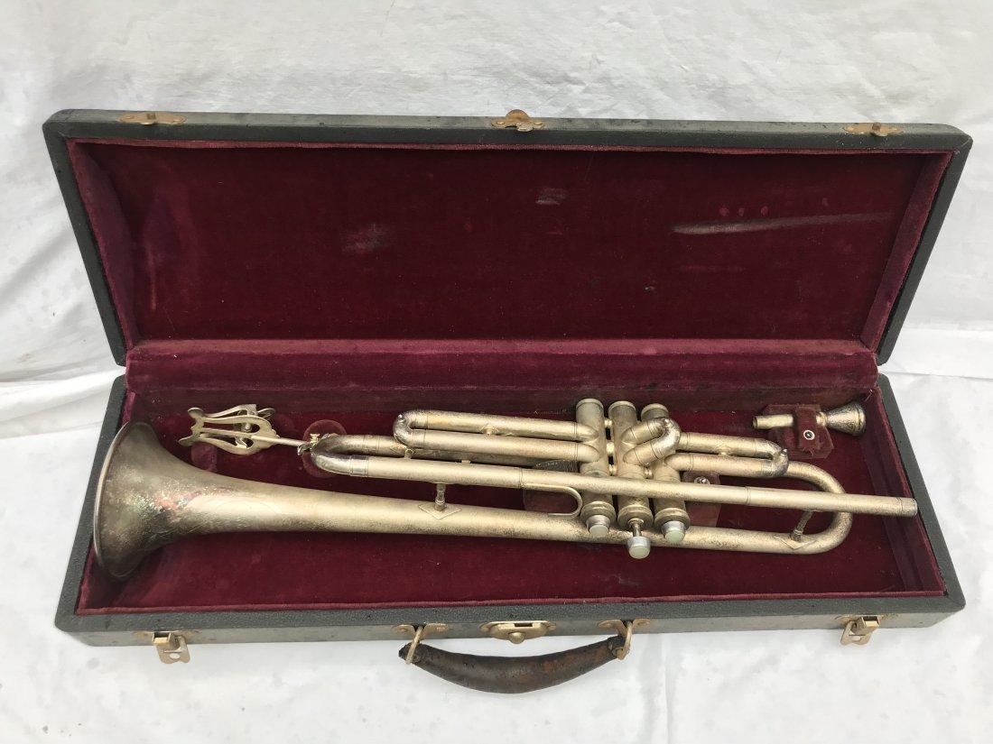 Nickel Plated Trumpet