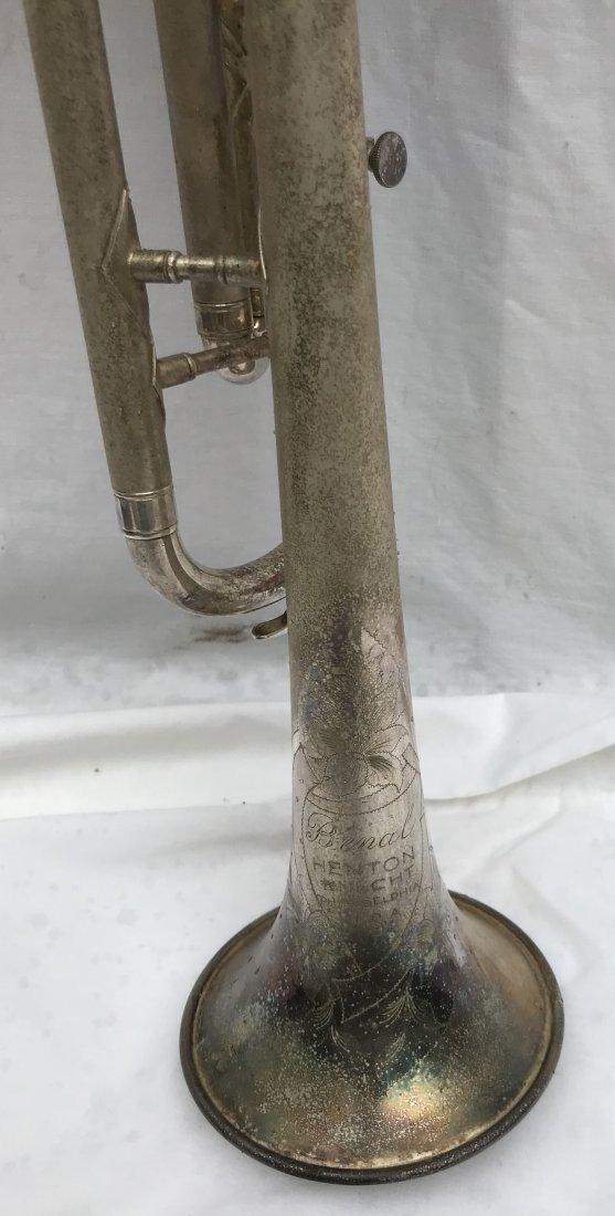 Nickel Plated Trumpet - 7