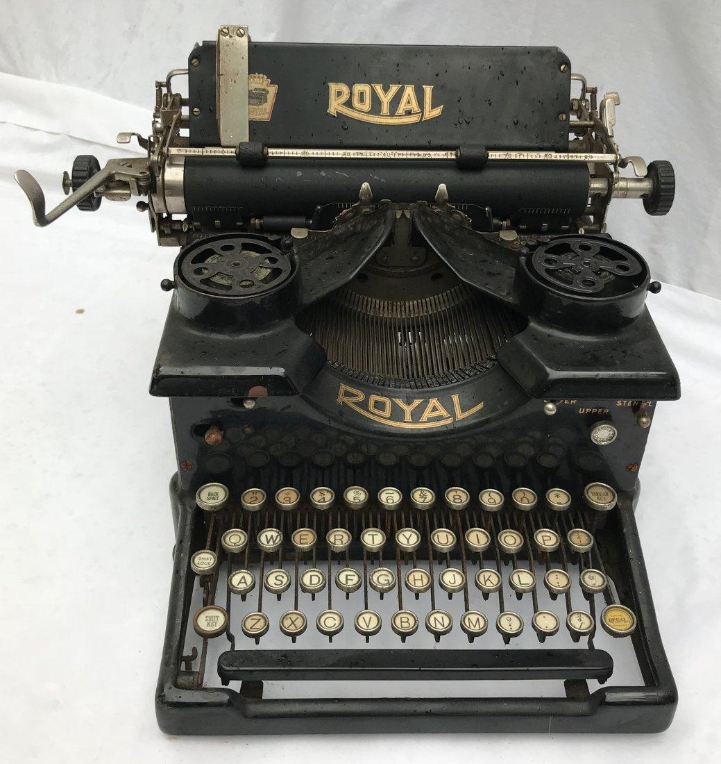 Vintage Royal Typewriter - 2