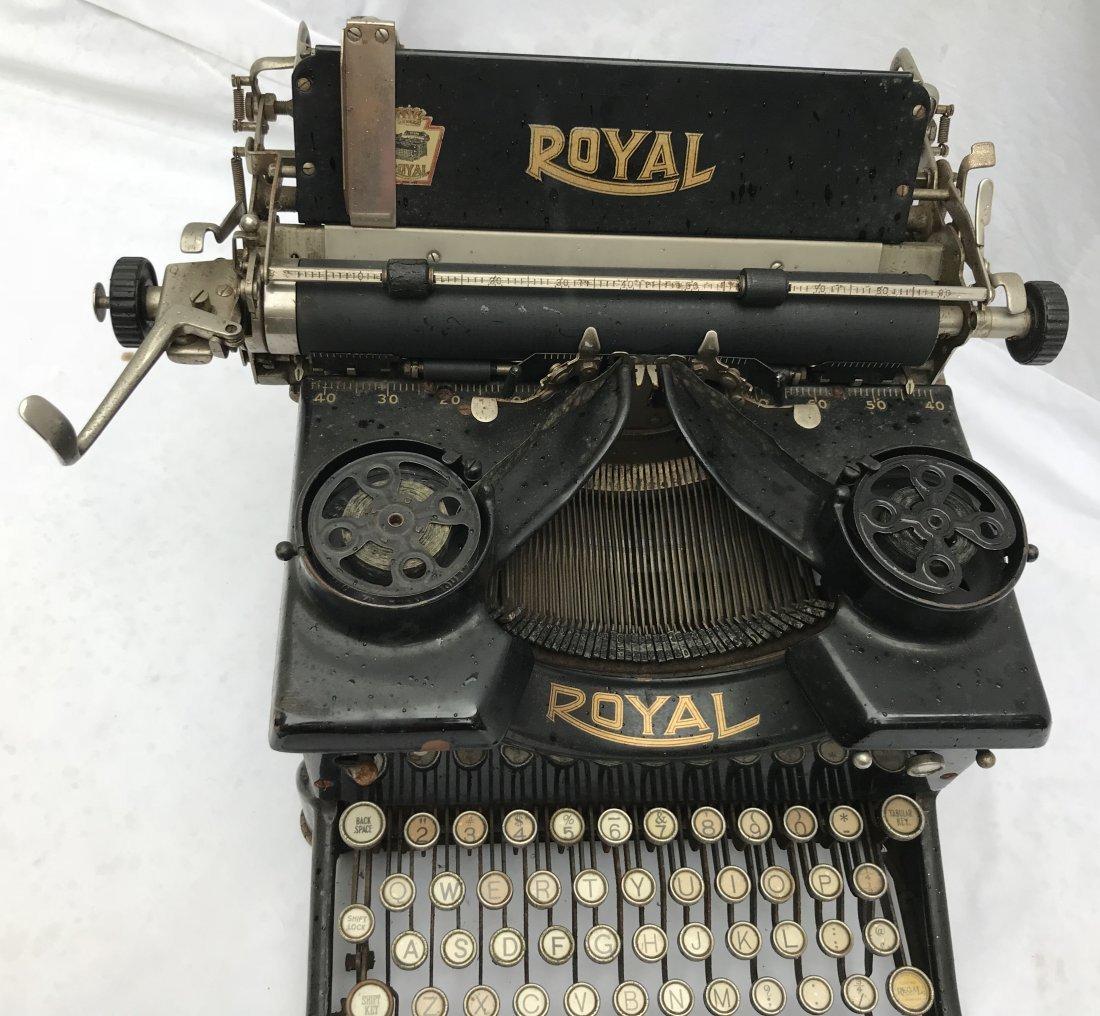 Vintage Royal Typewriter - 3