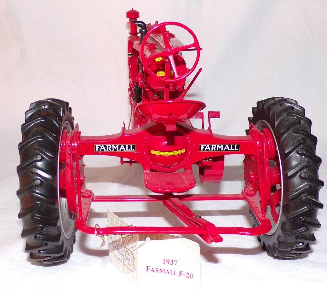 Die Cast Metal Model Tractor - 4